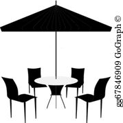 Patio Umbrella Clip Art.
