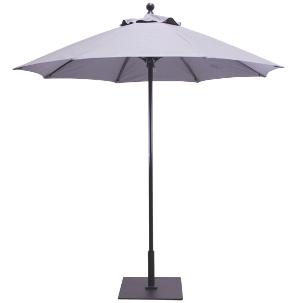 7.5′ Sunbrella B Aluminum Commercial Market Umbrella.