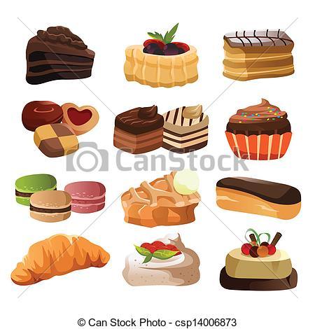 Illustrations Clip Art Vecteurs de Patisserie. 34 537 dessins.