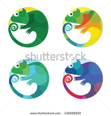 Chameleon Stock Photos, Royalty.