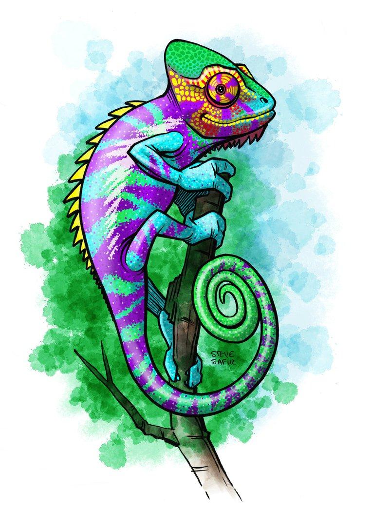panther chameleon purple bar by stevesafir on DeviantArt.