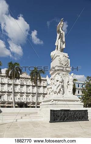 Stock Photography of Statue Of José Martí (Padres De La Patria.