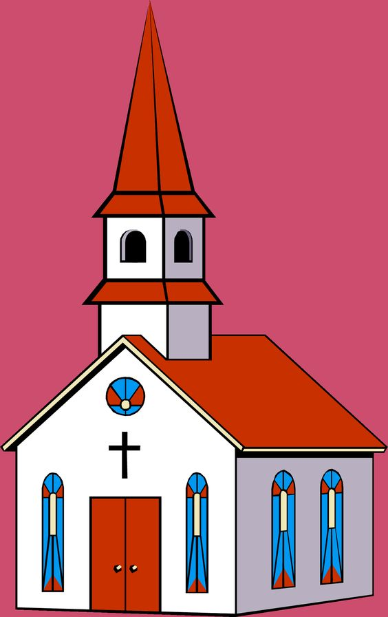 Church building clip art free clipart images 2.