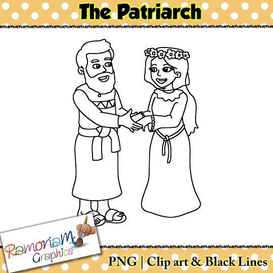 Patriarch Clip art.