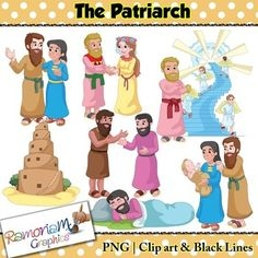 Patriarchal Family Clipart.
