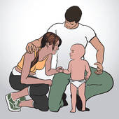 Young family Clipart and Illustration. 19,583 young family clip.