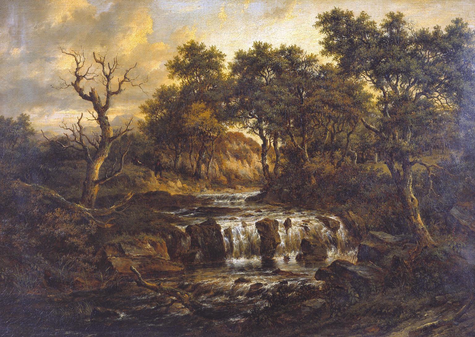 Landscape', Patrick Nasmyth, 1831.