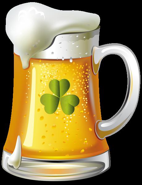 Día de San Patricio de cerveza PNG Clip Art Imagen.