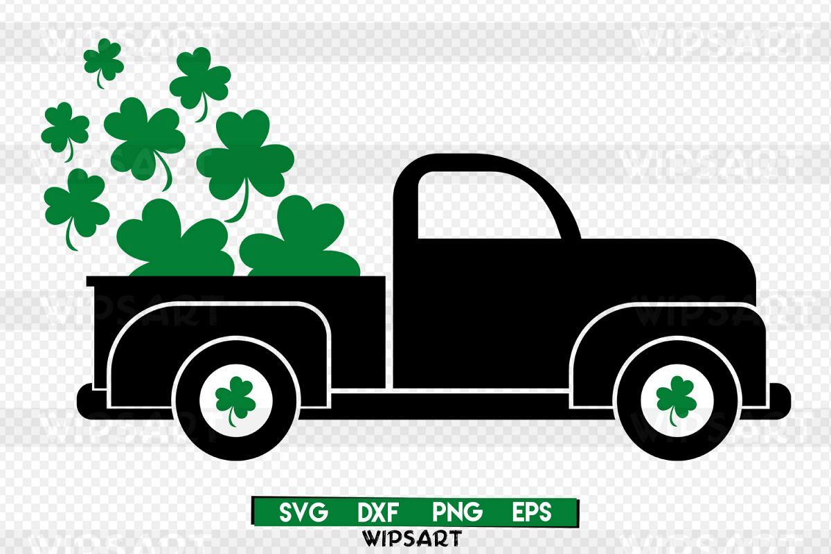 SALE! Saint patricks day svg, saint patricks day, truck svg.