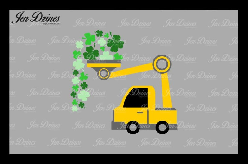 Free St Patrick\'s Day Loads of Luck SVG DXF EPS PNG Crafter.