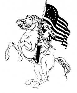 Patriot clipart #4