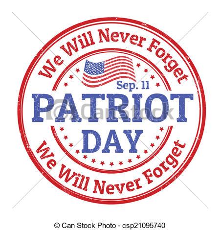 Patriot Day stamp.