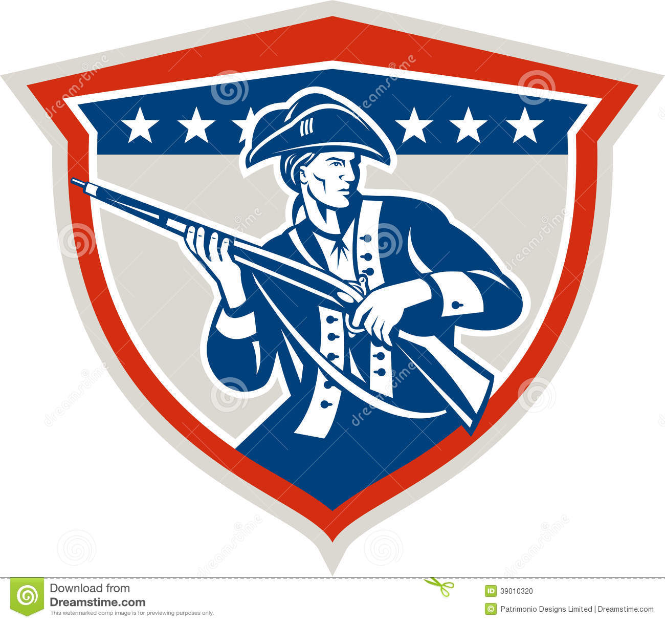 Patriot Soldier Clipart.
