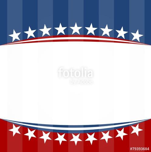 USA flag patriotic background.