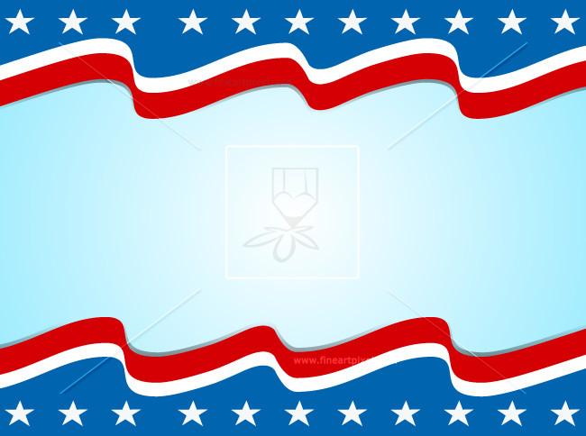 Patriotic Background.