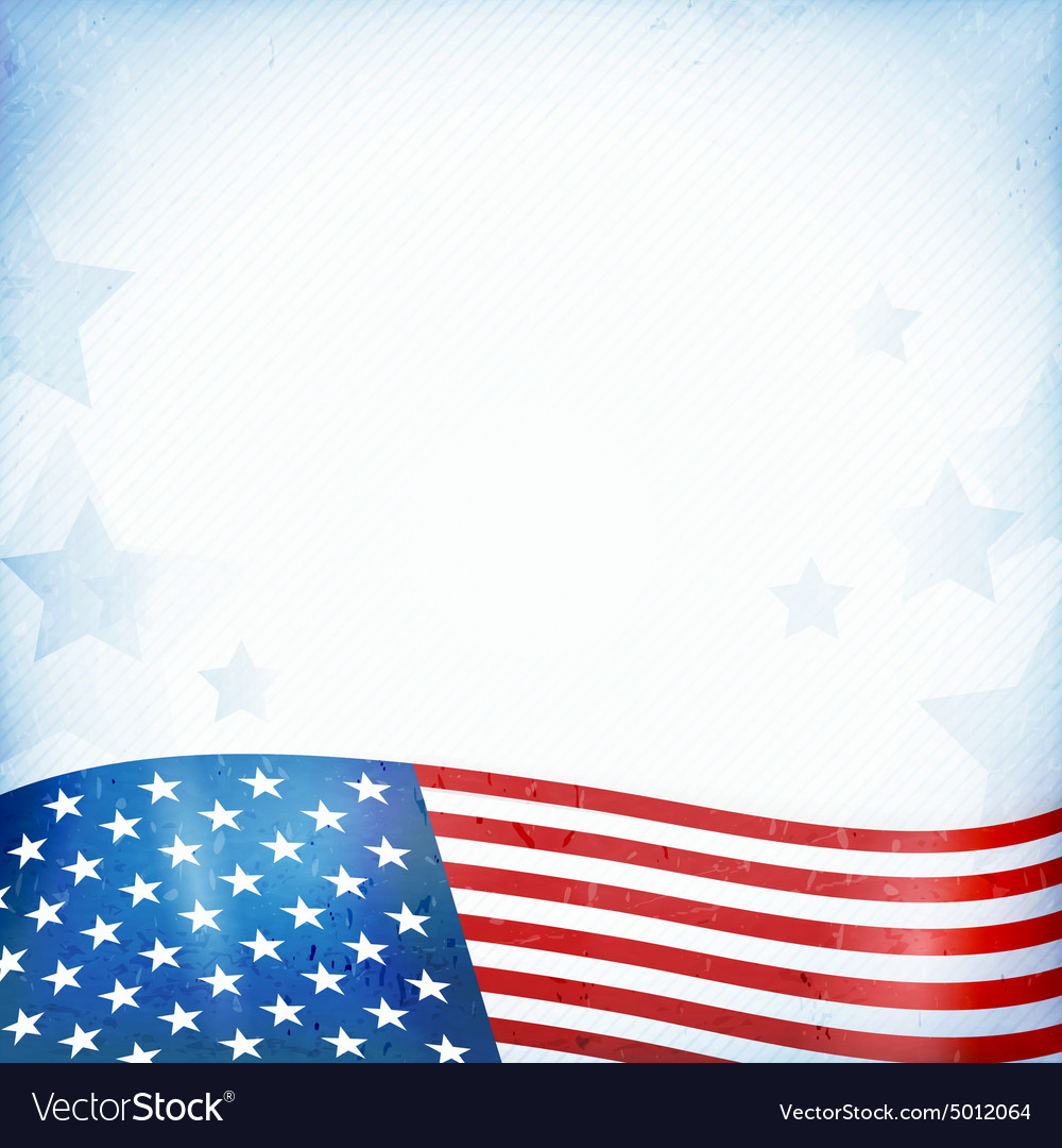 USA patriotic background.