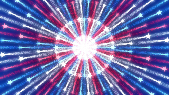 July 4th Patriotic Background.