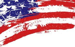 Patriotic Clipart Banner.
