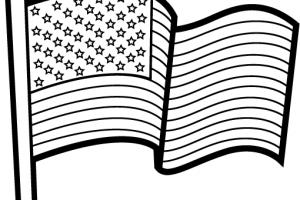 Patriotic clipart black and white » Clipart Portal.
