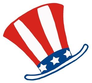 Free Patriotic Clip Art Image:.