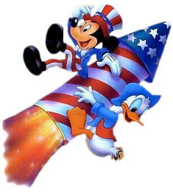 Patriotic Disney Clipart.