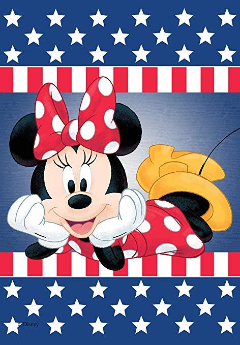 Amazon.com : Flagology, Disney, Minnie Mouse, Patriotic.