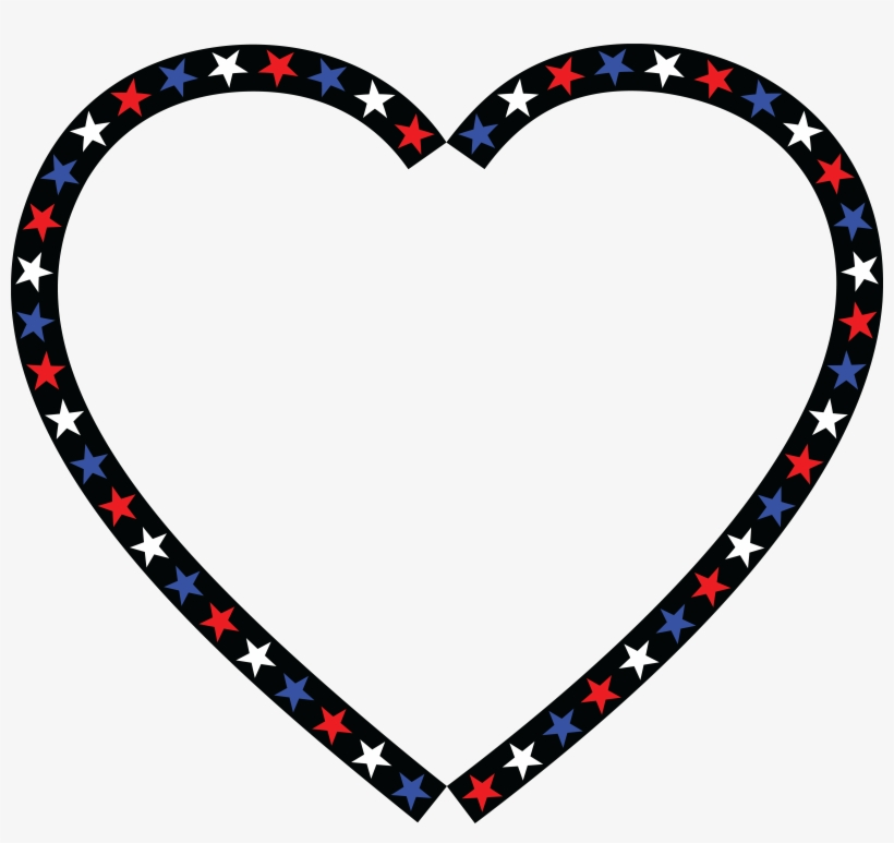 Free Clipart Of A Patriotic American Star Patterned.