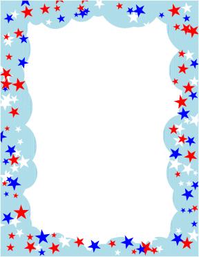 Pendant Flag Clipart Divider.