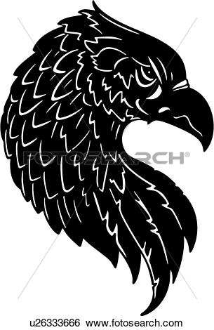 Clip Art of , america, american, animal, bird, eagle, patriotic.