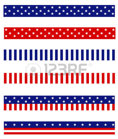 18,815 Patriotic Border Stock Vector Illustration And Royalty Free.