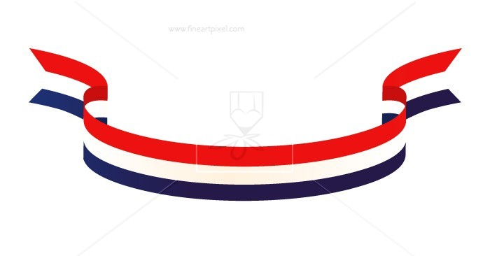 Patriotic Ribbon.