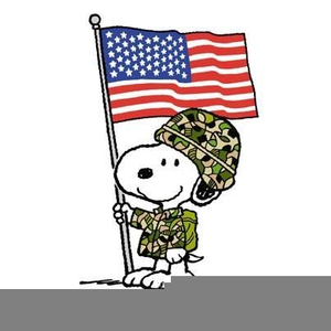 Veterans Day Snoopy.