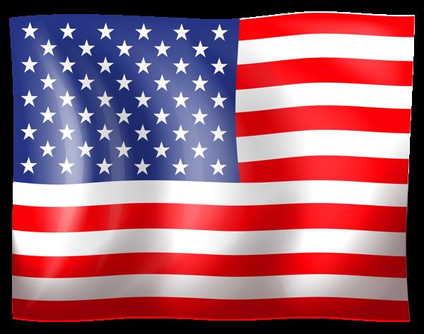 USA Flag Clipart.