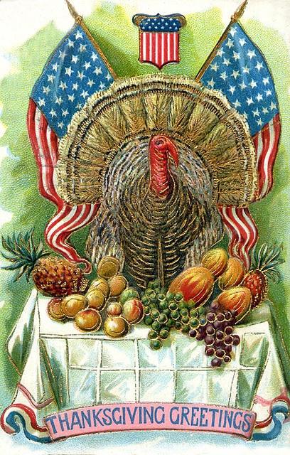 Patriotic Thanksgiving Clipart.