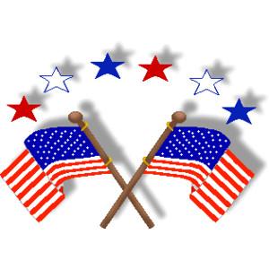 Patriotic Symbols Clip Art.