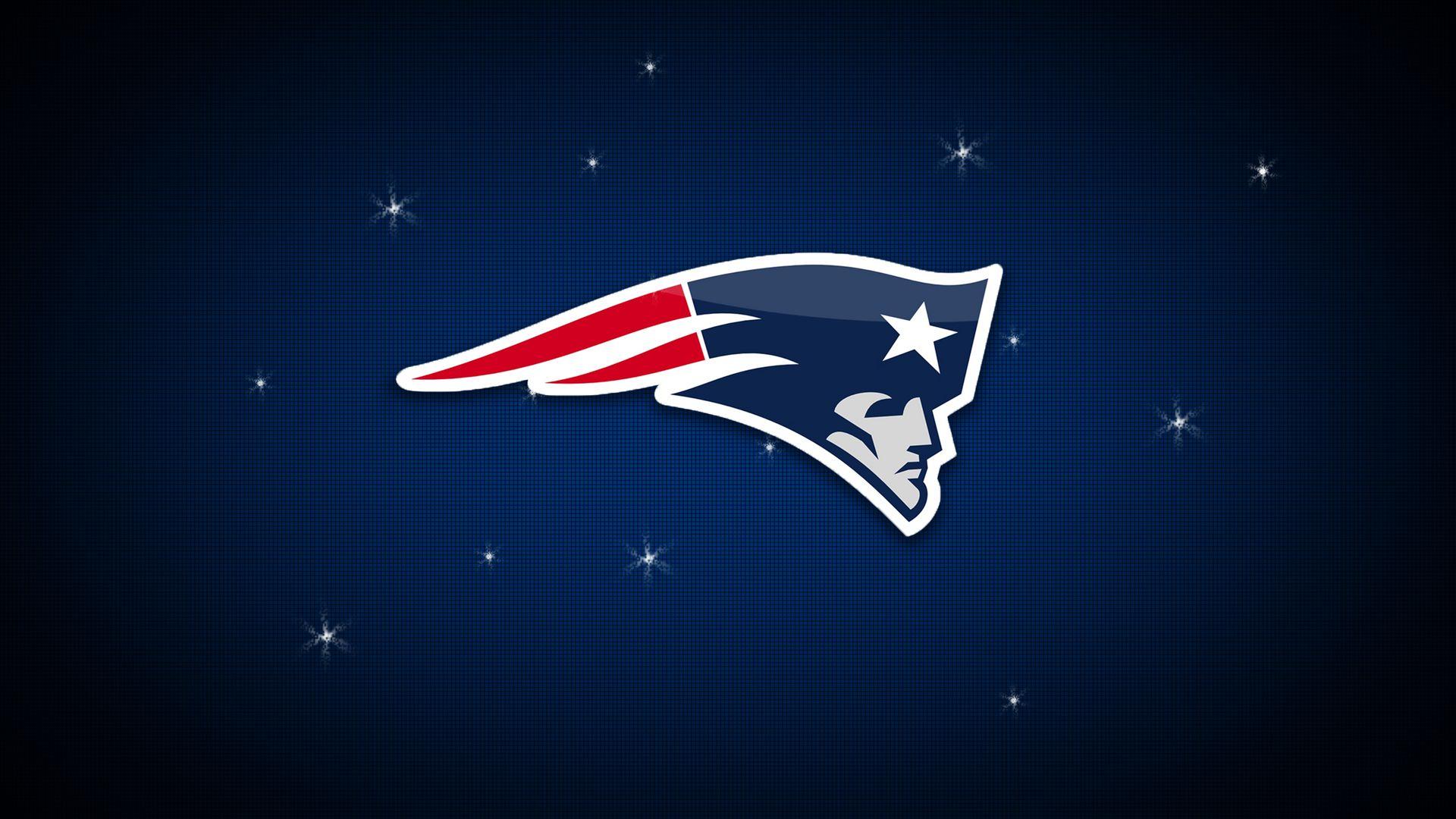 New England Patriots American Football Team Logo Wallpaper.