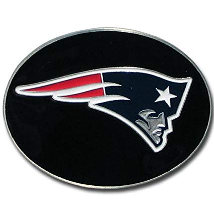 NFL New England Patriots Logo Buckle.