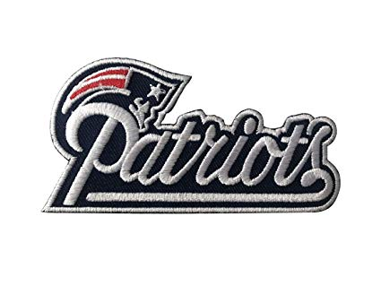 New England Patriots~Iron On NFL Logo~ Embroidered Patch~ from USA~.