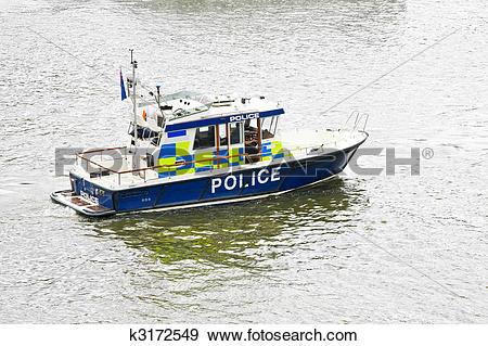 Stock Photograph of Patrol boat k3172549.