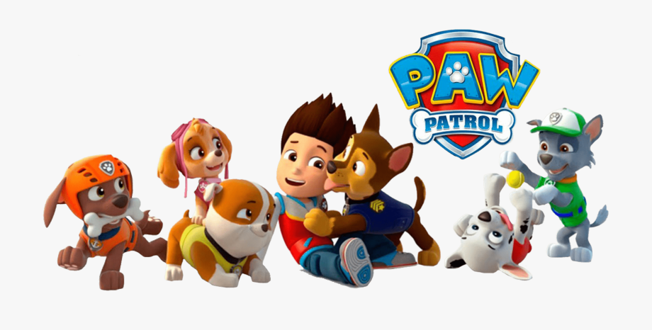 Ryder With Chase Paw Patrol Clipart Png Clipart Black.