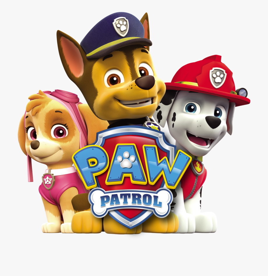 Paw Patrol Characters Png.