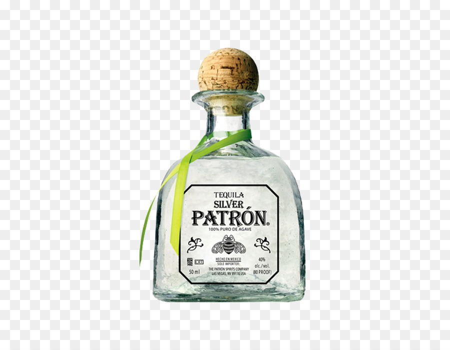 Patron Silver Tequila Liquor Wine Patrón.