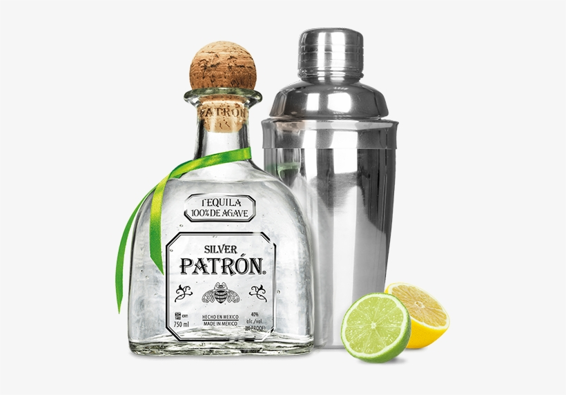 Patron Bottle Png.
