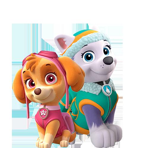 Personagens Patrulha Canina.