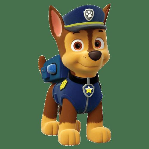 La Patrulla Canina Chase PNG transparente.