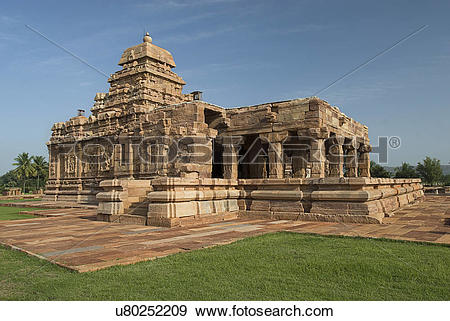 Stock Photograph of Sangameshwara Temple u80252209.