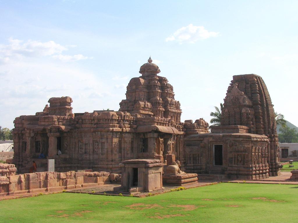 Monuments at Pattadakal.