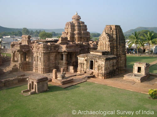 Group of Monuments at Pattadakal, Karnataka.