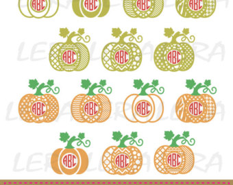 Pumpkin pattern.