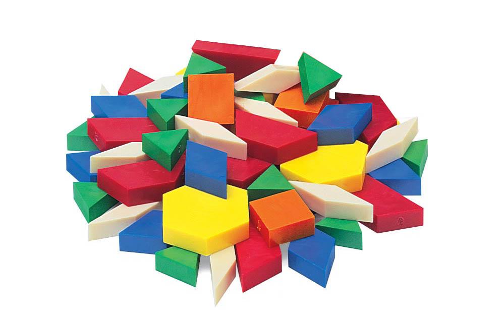 Pattern blocks clipart 1 » Clipart Station.